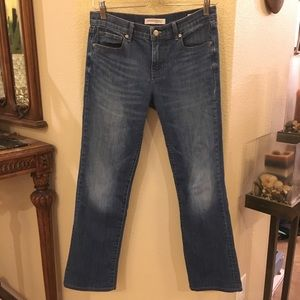 BANANA REPUBLIC Blue Straight Jeans Size 27